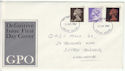 1967-06-05 Definitive Stamps Exeter FDC (61125)