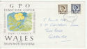 1968-09-04 Wales Definitive Stamps Newport FDC (61128)