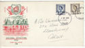 1968-09-04 Wales Definitive Stamps Cardiff FDC (61130)