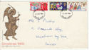 1969-11-26 Christmas Stamps Brighton FDC (61140)
