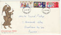 1969-11-26 Christmas Stamps Brighton FDC (61141)