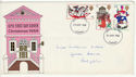 1968-11-25 Christmas Stamps Cardiff FDC (61164)