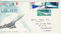 1969-03-03 Concorde Stamps creased 1/6 Exeter FDC (61170)