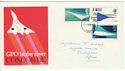 1969-03-03 Concorde Stamps Cardiff FDC (61173)