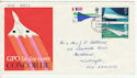 1969-03-03 Concorde Stamps Isle of Man FDC (61174)