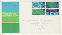 1969-10-01 PO Technology Stamps Cardiff FDC (61182)