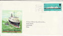 1969-01-15 British Ships Great Britain Slogan FDC (61186)