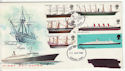 1969-01-15 British Ships Stamps Fareham FDC (61187)