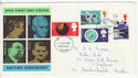 1967-09-19 British Discovery Stamps Huddersfield FDC (61189)