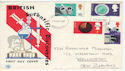1967-09-19 British Discovery Stamps Birmingham FDC (61190)