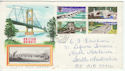 1968-04-29 Bridges Stamps Barrow in Furness cds FDC (61198)