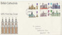1969-05-28 Cathedrals Stamps Newport FDC (61238)