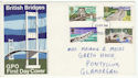 1968-04-29 British Bridges Stamps London FDC (61248)
