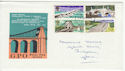 1968-04-29 British Bridges Stamps Cardiff FDC (61249)