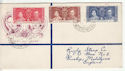 Dominica 1937 Coronation Stamps FDC (61269)