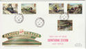 1985-01-22 Famous Trains Crowthorne Stn cds FDC (61272)
