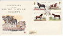 1978-07-05 Horse Stamps Kenilworth FDC (61277)