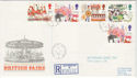 1983-10-05 British Fairs Stamps Hyson Green cds FDC (61282)