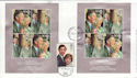 2005-04-08 Charles & Camilla Doubled Dated cds FDC (61283)
