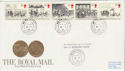 1984-07-31 Mailcoach Stamps Newmarket cds FDC (61285)