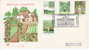 1983-08-24 British Gardens Stamps Blenheim FDC (61296)