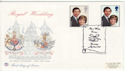 1981-07-22 Royal Wedding Stamps Canterbury FDC (61299)