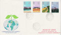 1983-03-09 Commonwealth Day Stamps Lords SW1 cds FDC (61302)