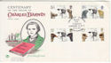 1982-02-10 Charles Darwin Stamps London SW7 FDC (61323)