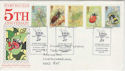 1985-03-12 Insects Stamp Bug Club Official FDC (61335)