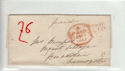 Queen Victoria era Pre Stamp Pmk Cover (61358)