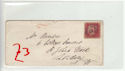 Queen Victoria 1d Red Used on Cover (61359)