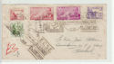 Spain Espana Stamps used on Cover 1950 (61374)
