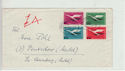 Germany 1955 Lufthansa Stamps on Cover (61382)