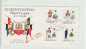 Gibraltar 1974 Uniforms Stamps FDC (61386)