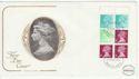 1976-03-10 10p Booklet Stamps Windsor FDC (61400)