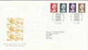 1999-03-09 High Value Definitive Stamps Windsor FDC (61405)