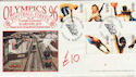 1996-07-09 Olympics by Train Barnsley FDC (61415)