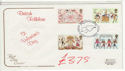 1981-02-06 Folklore Stamps Lover FDC (61418)