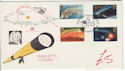 1986-02-18 Halleys Comet Stamps London SE10 FDC (61422)