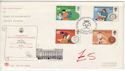 1981-08-12 Duke of Edinburgh Award London SW1 FDC (61425)