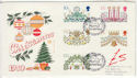 1980-11-19 Christmas Hollybush Ledbury FDC (61446)