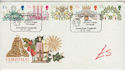 1980-11-19 Christmas Stamps London W1 FDC (61447)