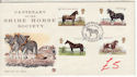 1978-07-05 Horses Stamps Courage Maidenhead FDC (61452)