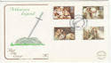 1985-09-03 Arthurian Legend Stamps Mere FDC (61469)