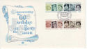 1986-04-21 Queen's 60th Birthday Stamps Windsor FDC (61486)