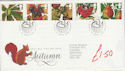 1993-09-14 Autumn Stamps Taunton FDC (61502)