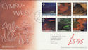 2004-06-15 Wales A British Journey T/House FDC (61521)