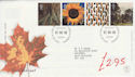 2000-08-01 Tree and Leaf Stamps Bureau FDC (61536)