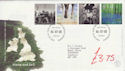 2000-07-04 Stone and Soil Stamps Bureau FDC (61537)