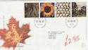 2000-08-01 Tree and Leaf Stamps Bureau FDC (61557)